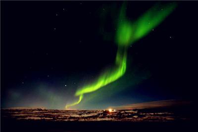 [遇见北极光]极限挑战雪地摩托车+蓝湖温泉+冰岛10天